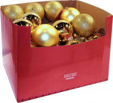 can211200 boule de noel 12cm doree