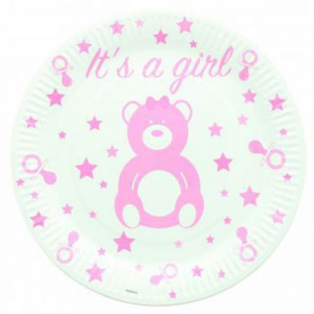 1121ro baby shower deco table fille
