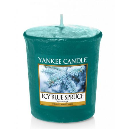 1595586e icy blue spruce voltive yankee candle sapin enneige