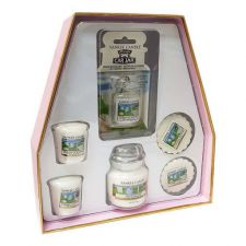 1613572 fragrance yankee candle coffret clean cotton