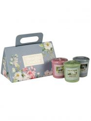 ss20 garden 3 votives giftset yankee candle