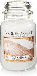 yankee candle angel wings large jar