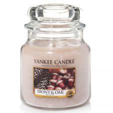 1519668e yankee candle ebony oak medium jar bois precieux