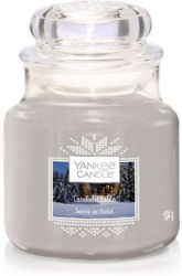 1623741e candlelit cabin small jar soiree au chalet yankee candle