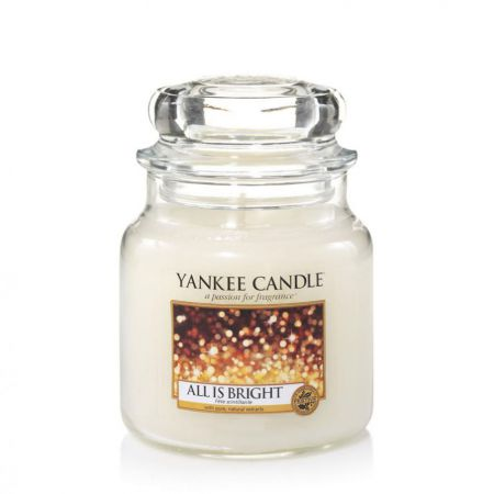 1513534e all is bright medium jar fete scintillante yankee candle