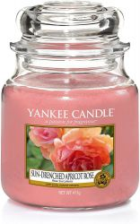 157714e sun drenched apricot rose medium jar rose succulente yankee candle