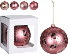 avg111910 xmas ball flower deco 15cm