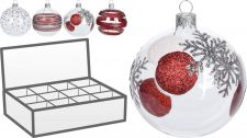 avg112050 xmas ball transparent 100mm